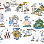 Keith Bendis Graphic Recording: The Keynote Cliche